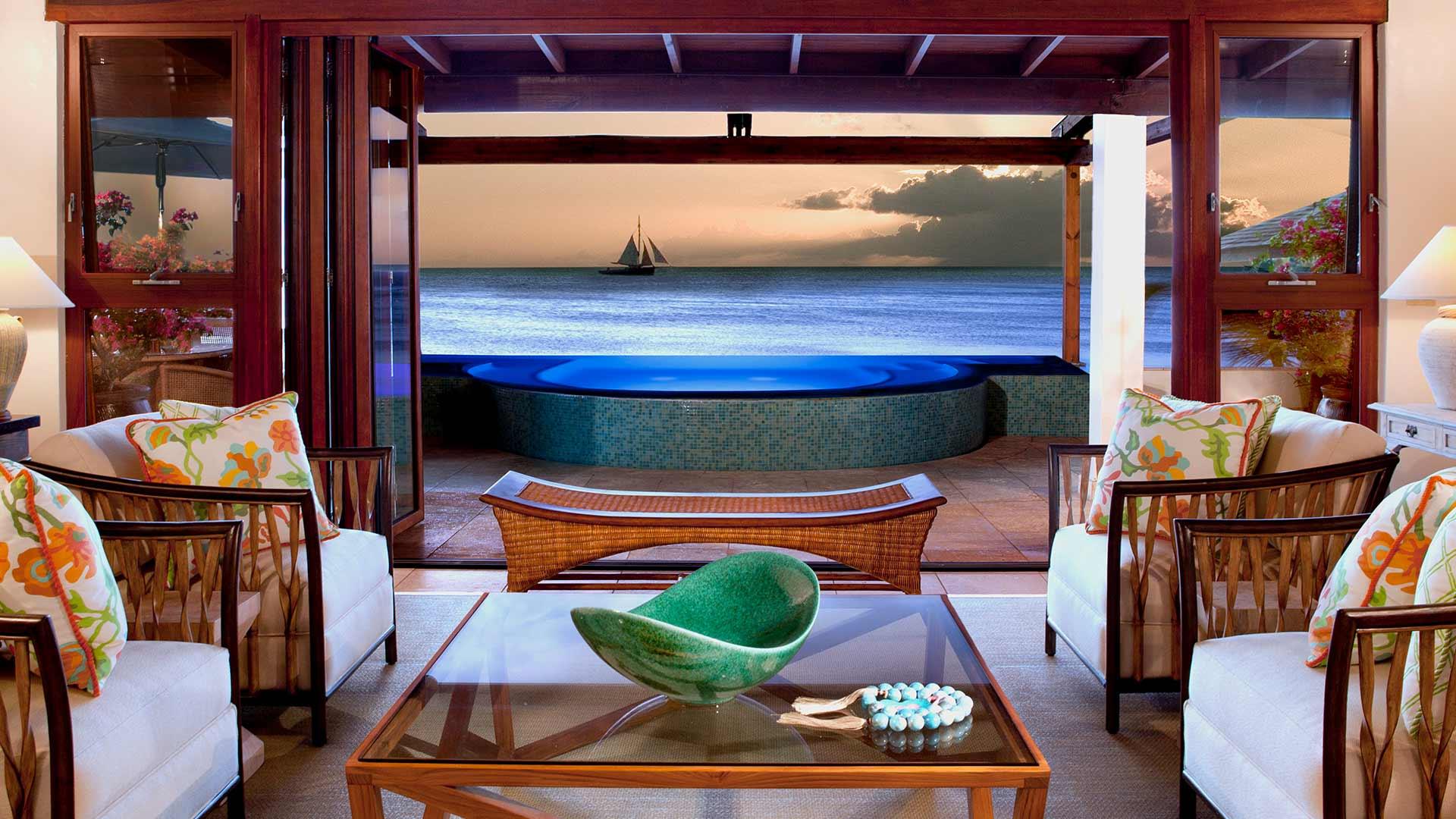 Luxury Beach Side Villa